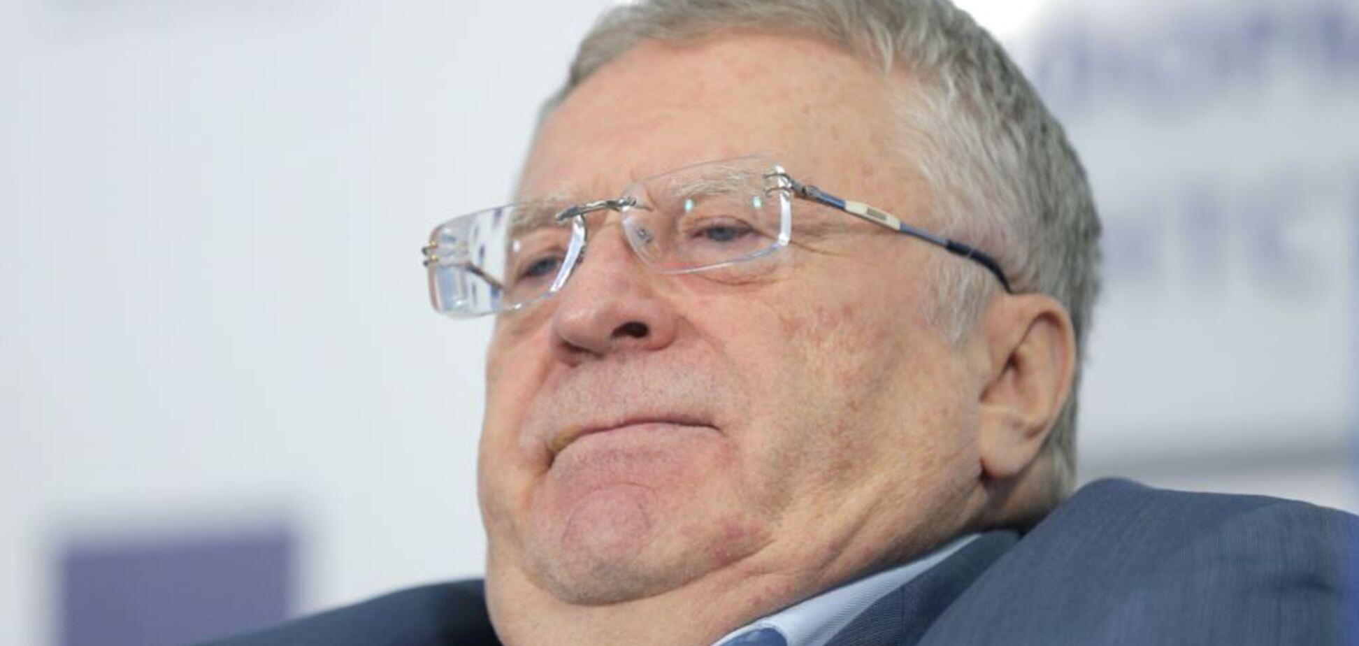 Жириновський пригрозив знищити Україну через Трампа