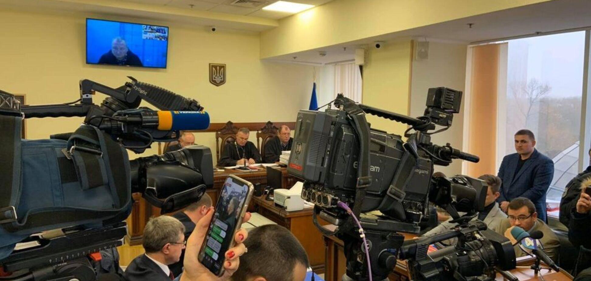 Заседание суда по делу генерала Марченко