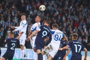 'Динамо' пропустило на последней секунде и проиграло в Лиге Европы