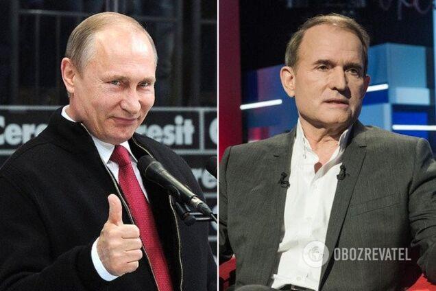 Медведчук захотел оставить войска Путина на Донбассе