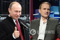 Медведчук схотів залишити війська Путіна на Донбасі