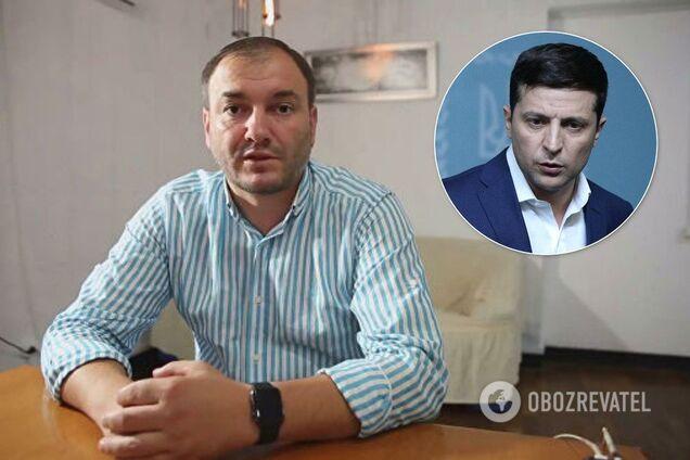 Ярослав Годунок и Владимир Зеленский