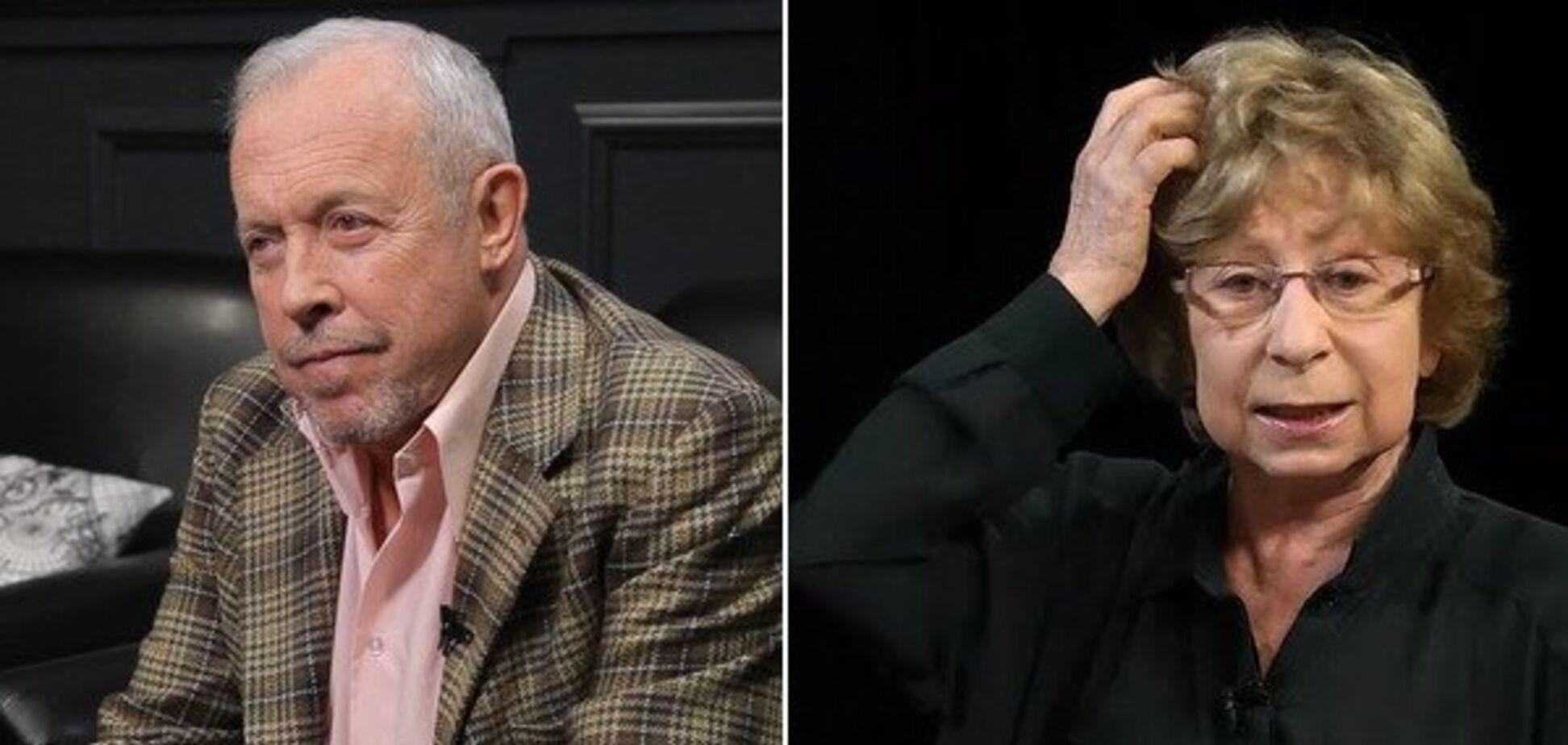 'Валить із країни, гниди': росіяни накинулися на Макаревича та Ахеджакову через Путіна