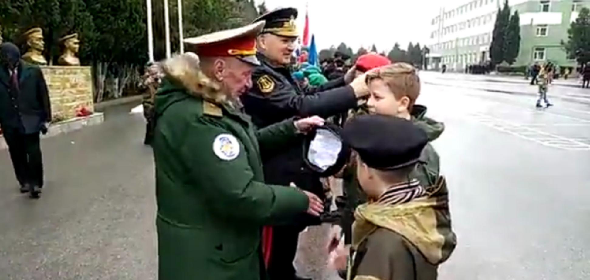 314-я річниця морської піхоти в Криму