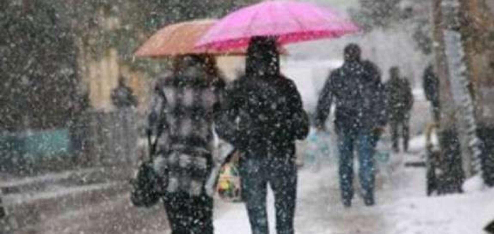 Снег и ветер: появился прогноз на выходные в Днепре