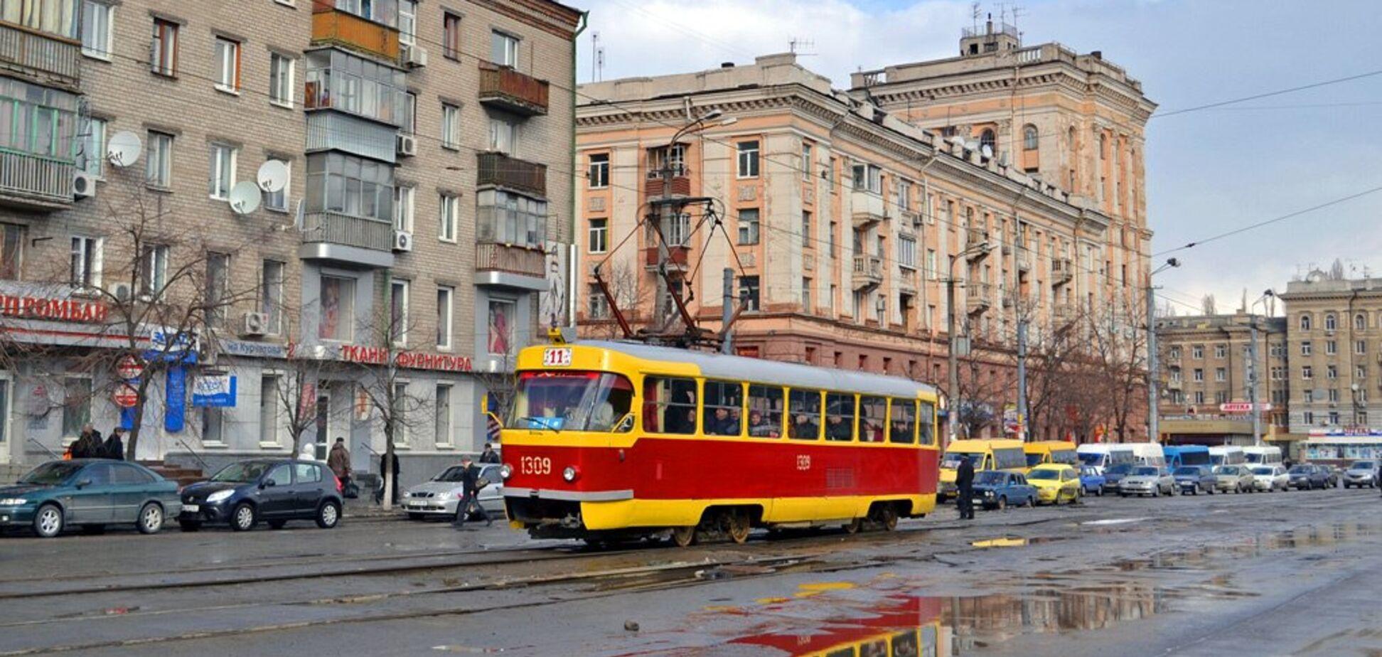 В Днепре трамваи изменят маршрут: подробности