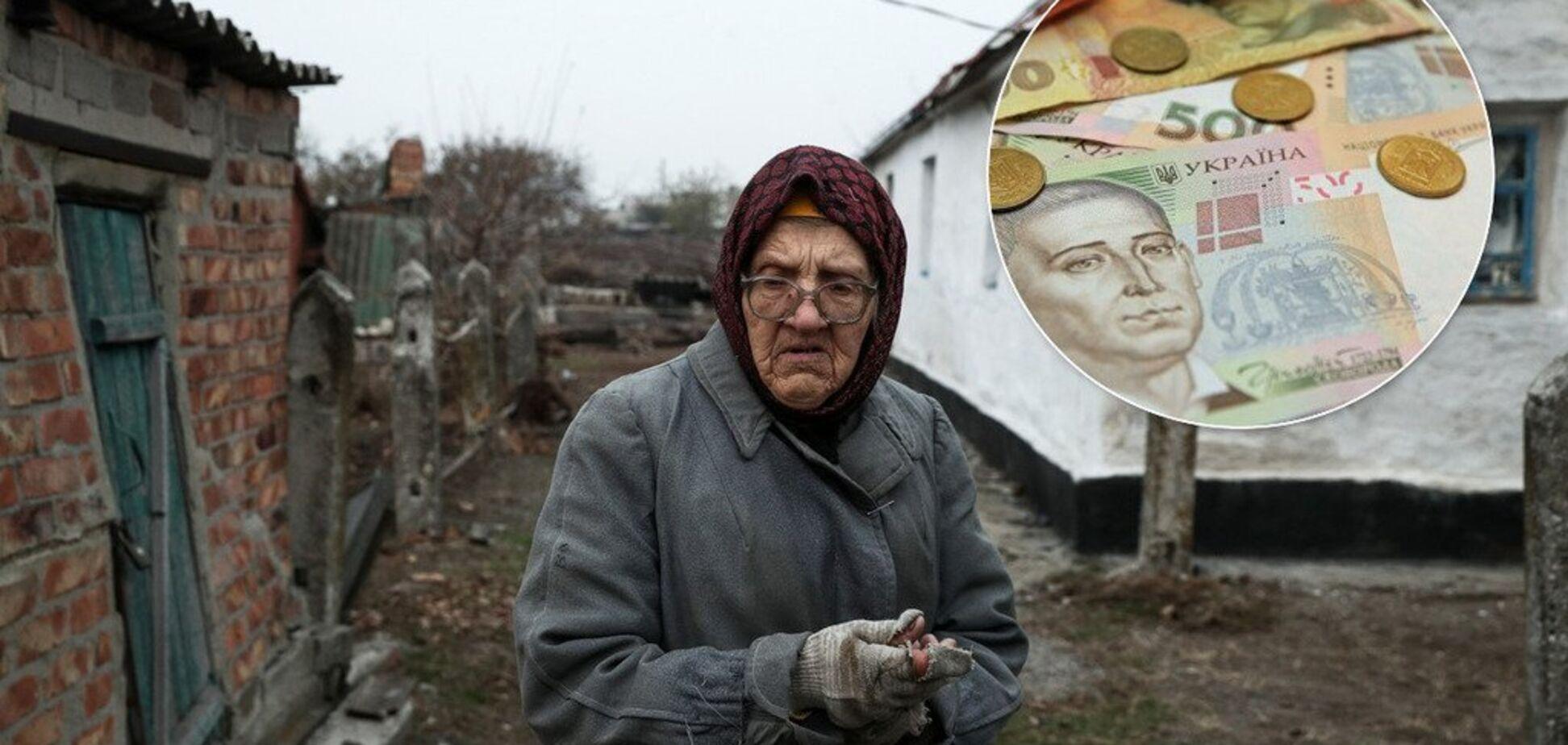 У Росії ветерану праці частину пенсії видали печивом
