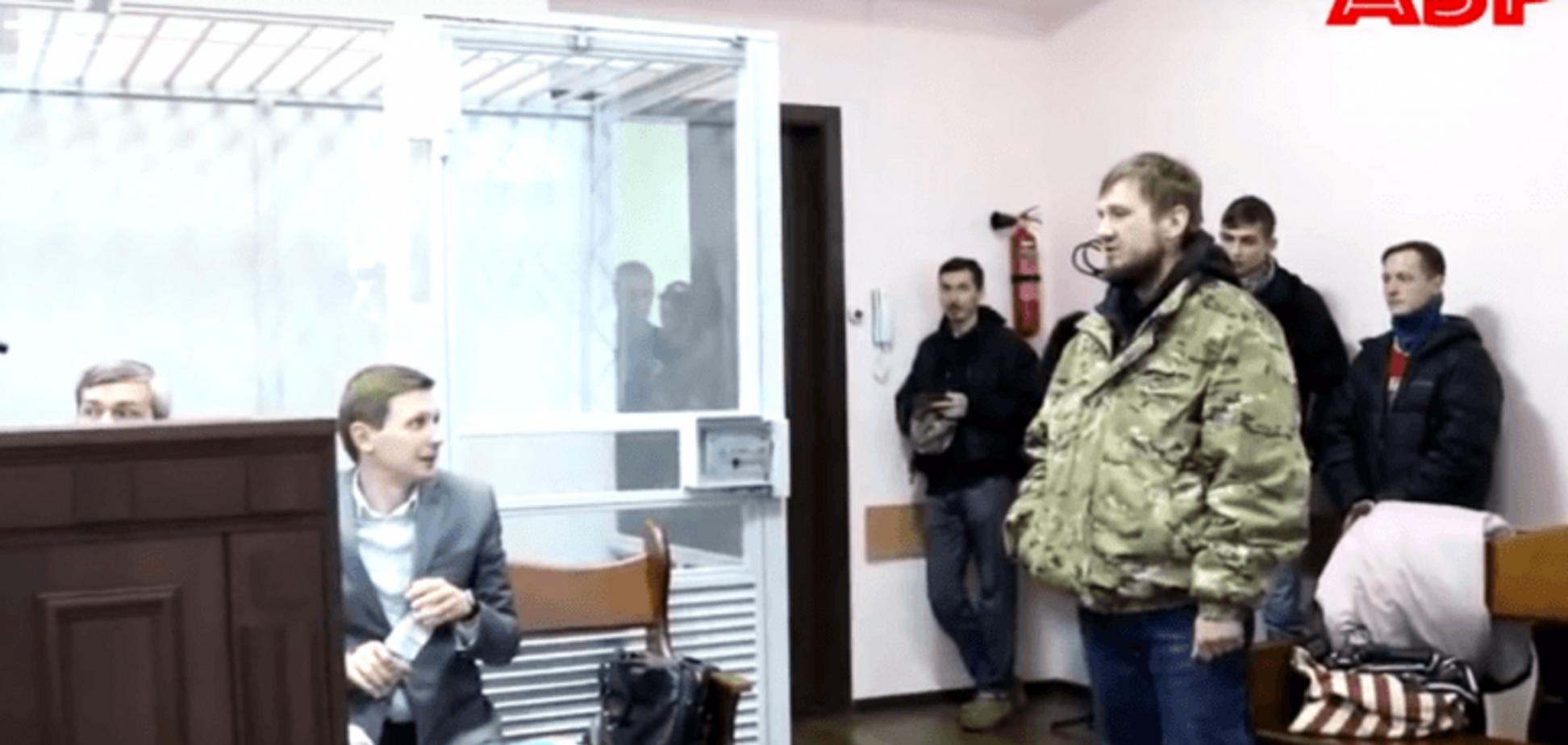 На суд к Тупальская пришли участники АТО