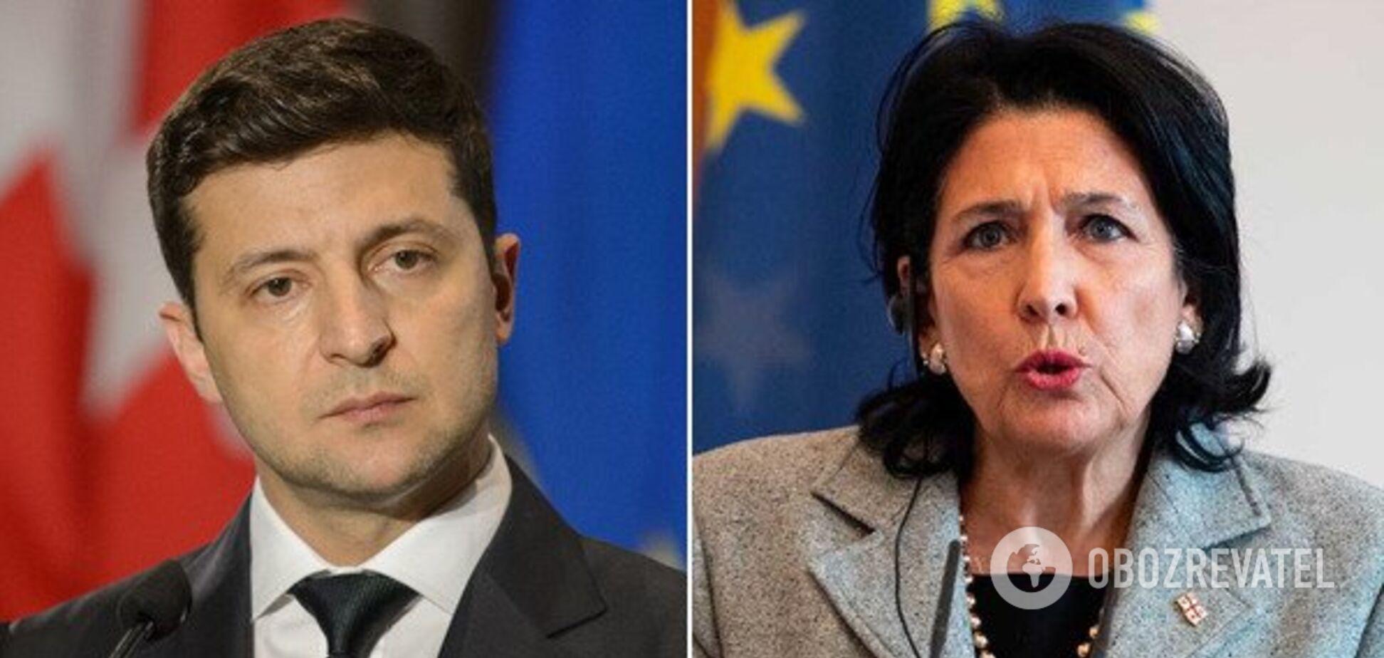 Президент Грузии внезапно отменила визит к Зеленскому