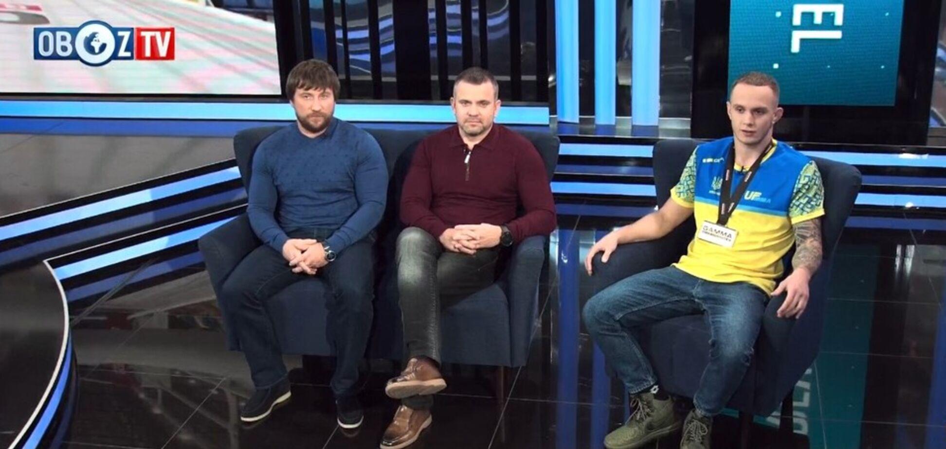 Украинская команда UF MMA заняла первое командное место в мире