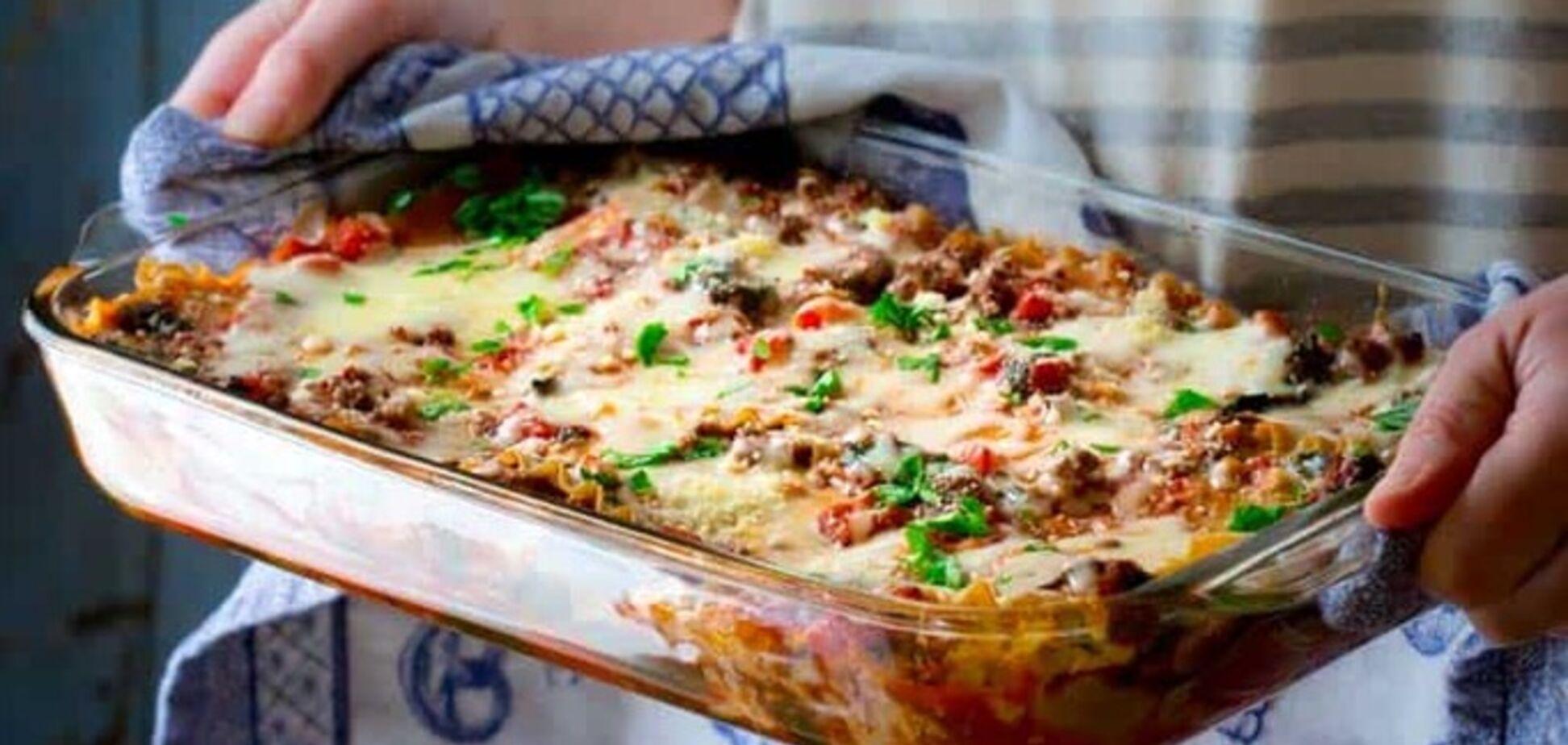 Рецепт простой и вкусной лазаньи на скорую руку