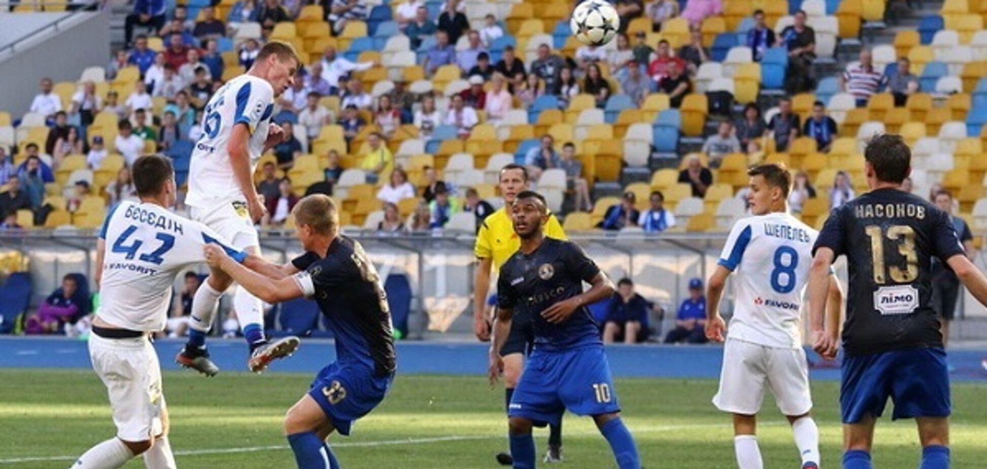'Динамо' здобуло розгромну перемогу і зазнало втрати перед матчем із 'Шахтарем'