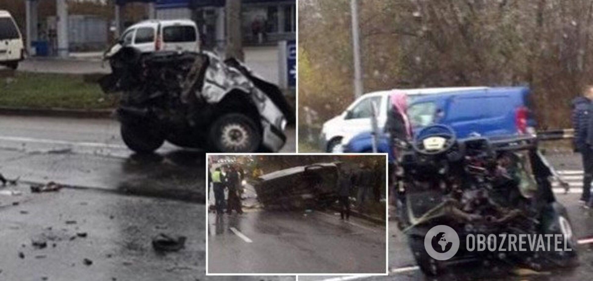 Разрубило половину лица: в Киеве произошло смертельное ДТП
