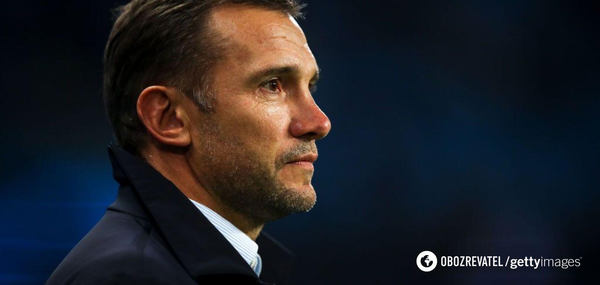 Шевченко прокомментировал жеребьевку Евро-2020 для сборной Украины