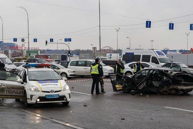 В Киеве произошло кровавое ДТП