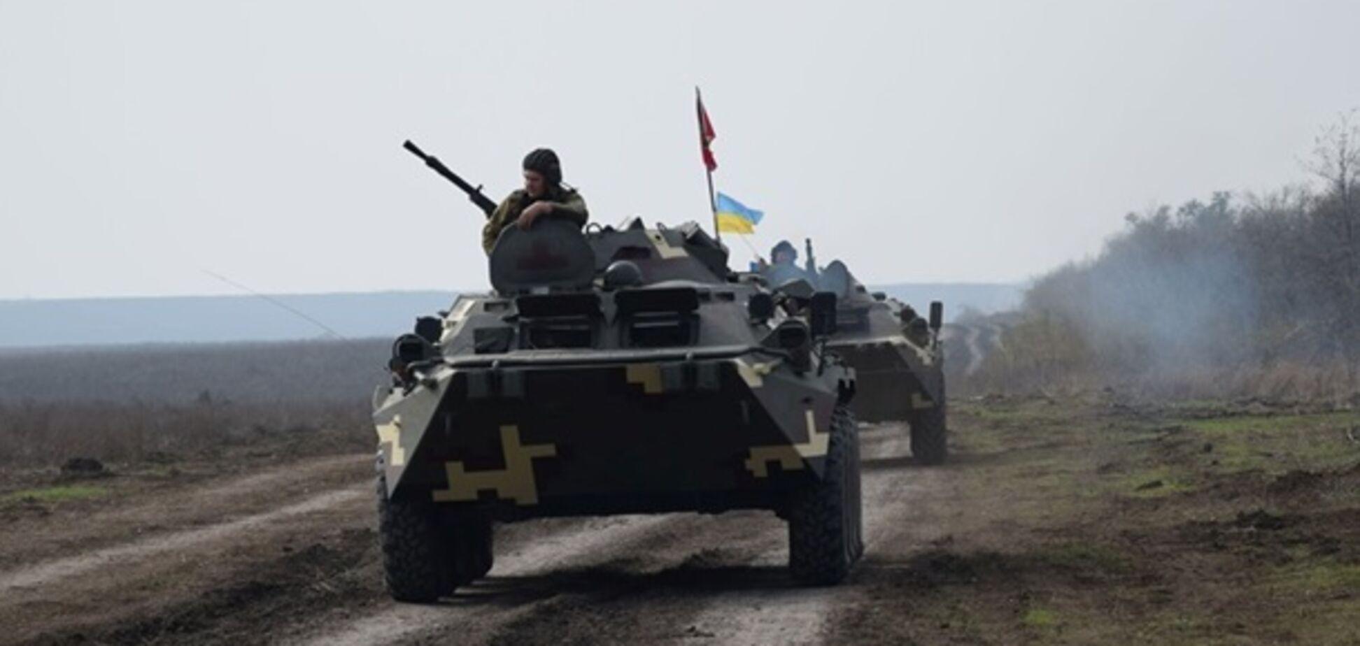 Відведення військ на Донбасі
