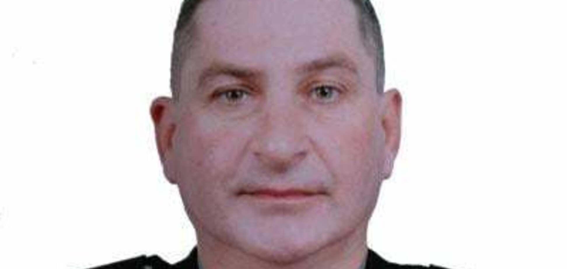 На Донбассе во время службы в ООС умер майор полиции: что о нем известно