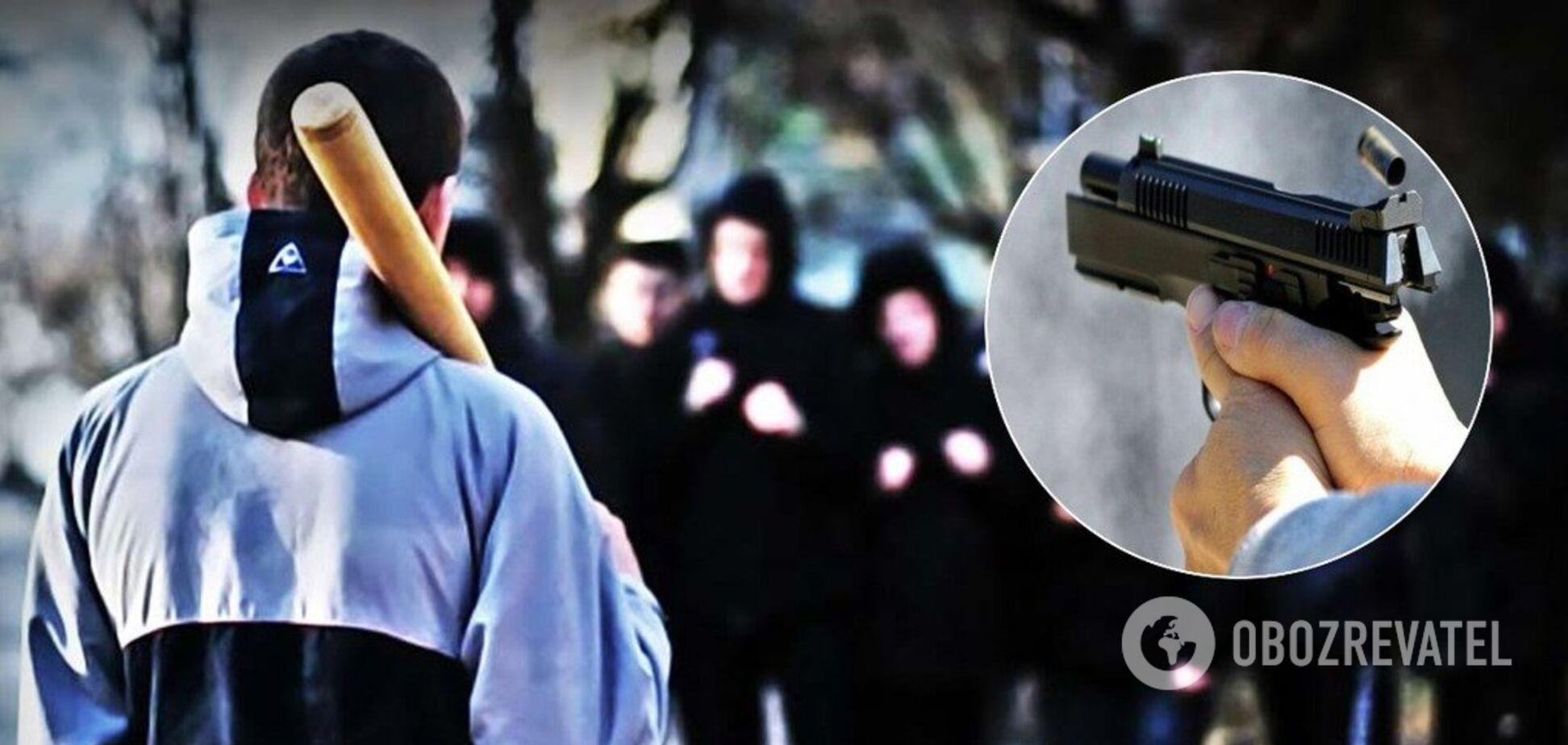 В Херсоне подростки устроили перестрелку на улице: есть раненый