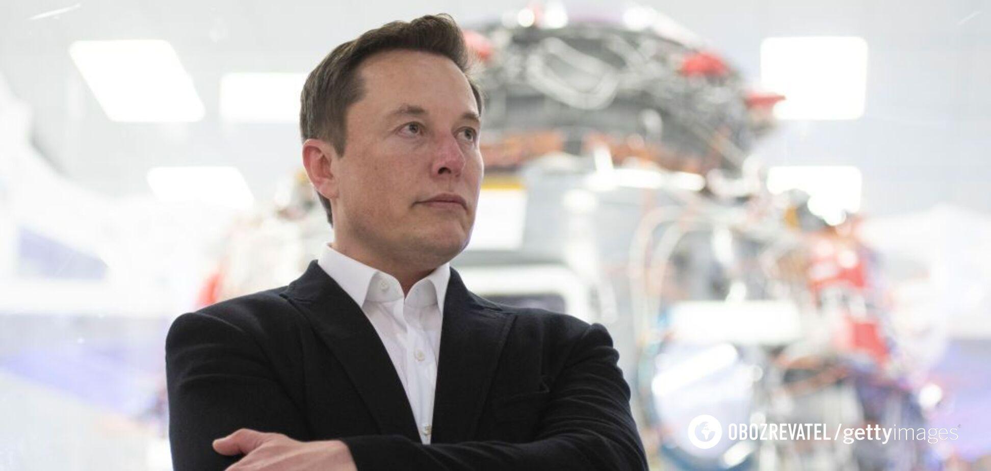 Через Tesla статок Маска за тиждень збільшився на кілька мільярдів