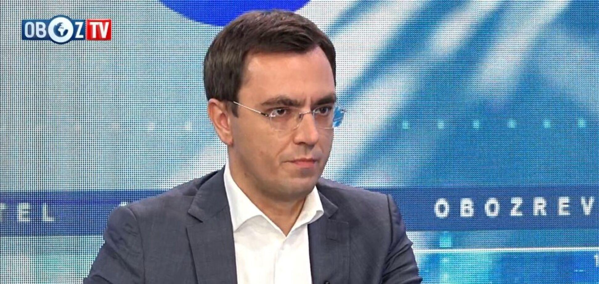 ''Hyperloop будет'': Омелян напомнил новому Кабмину об ишаках за три рубля