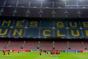 'Ніколи не бачив': тренера застали 'майже голим' перед матчем з 'Барселоною' в ЛЧ
