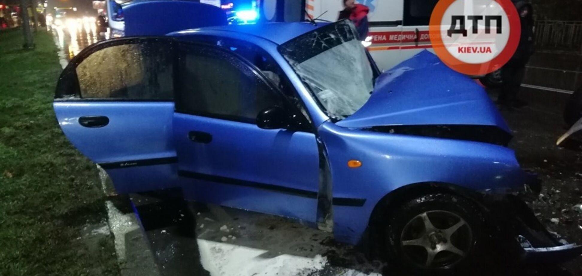 Под Киевом авто с российской регистрацией устроило смертельное ДТП