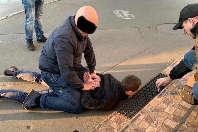 Операция СБУ по задержанию взяточника