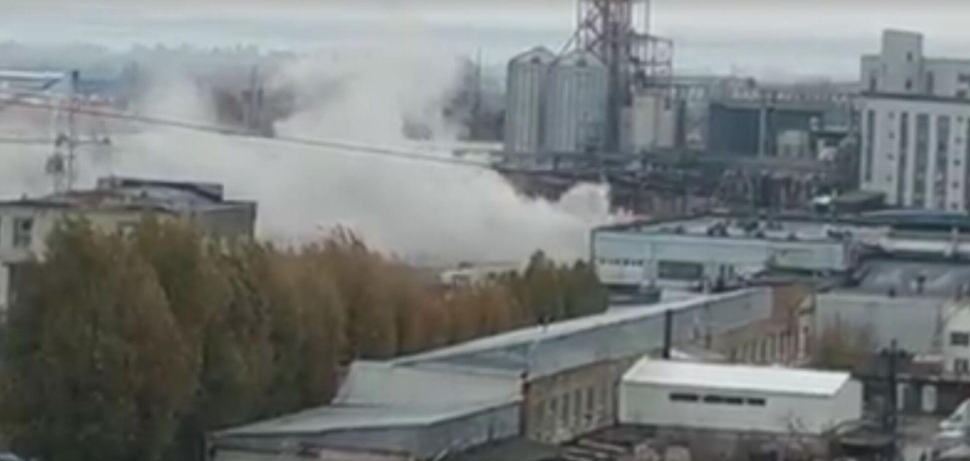 Біля заводу 'Потоки' в Дніпрі спалахнула пожежа