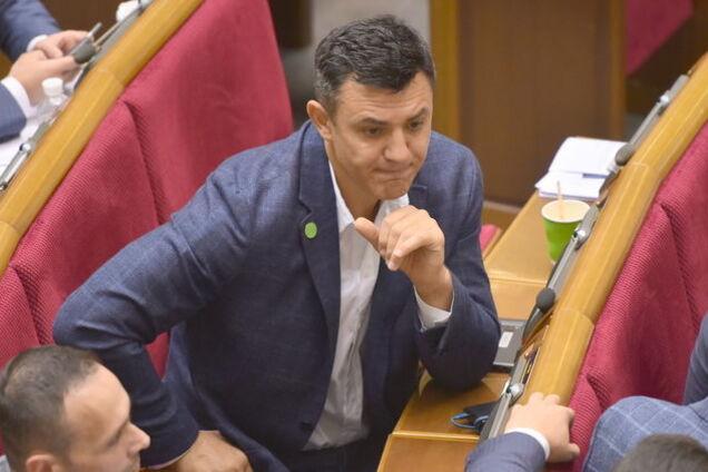 Микола Тищенко в Раді