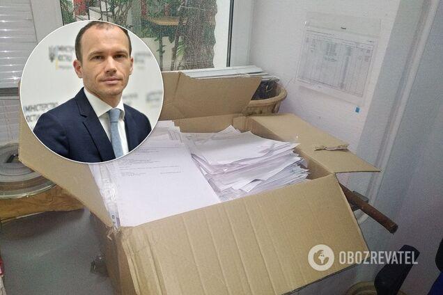 В Минюсте нашли спрятанные документы