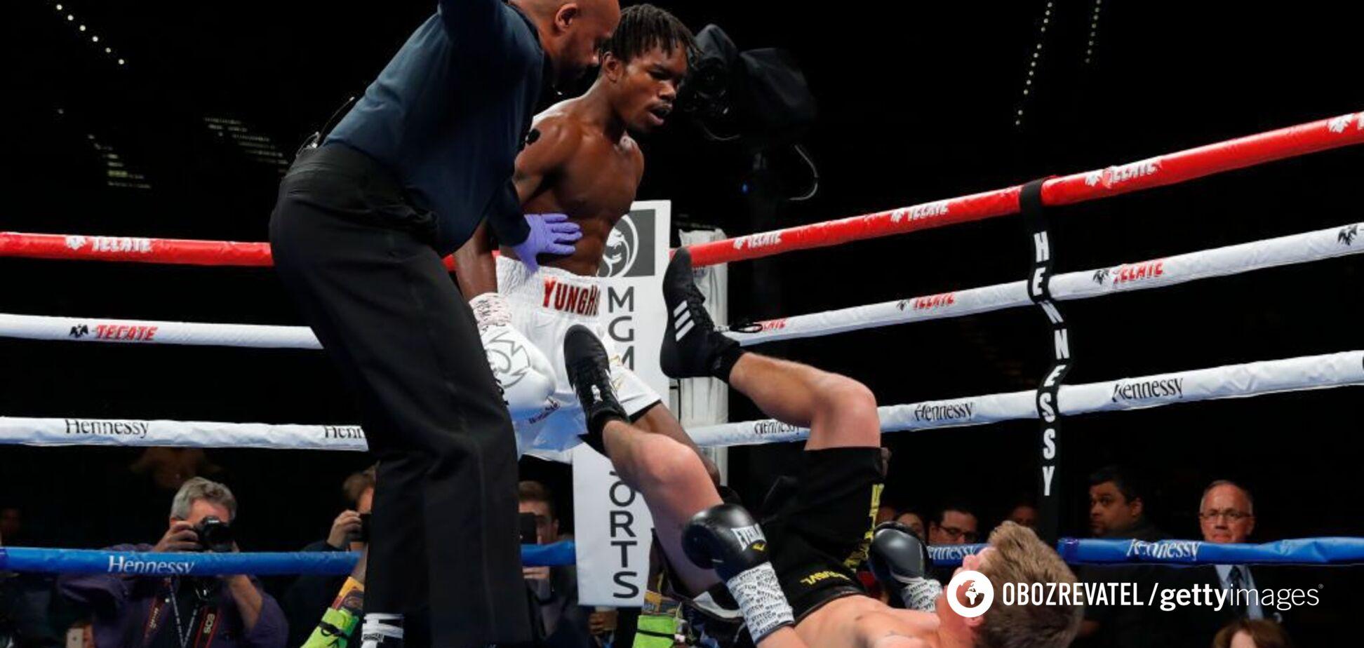Сын Холифилда ураганным нокаутом за 16 секунд дебютировал в профи-боксе