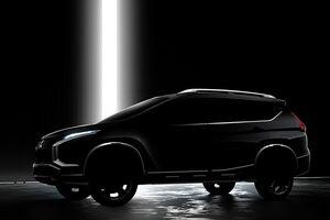 Новый кроссовер Mitsubishi: первые подробности и фото