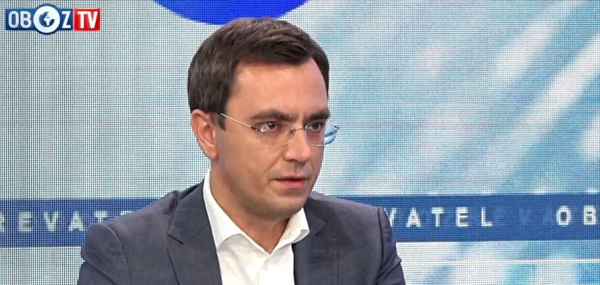 'Чому мовчать?' Омелян розповів про справу Дубневича і корупцію в 'Укрзалізниці'