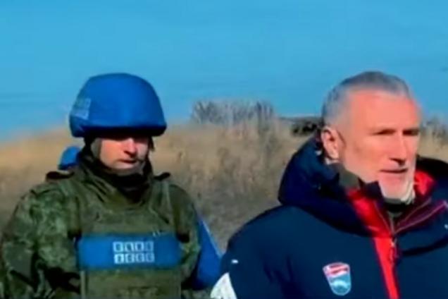Журавлев на Донбассе
