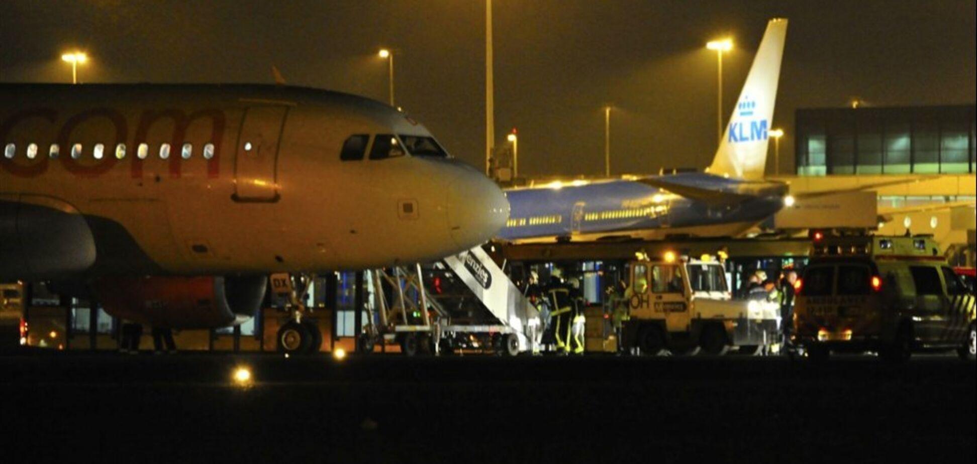 В аэропорту Амстердама ЧП из-за захвата заложников