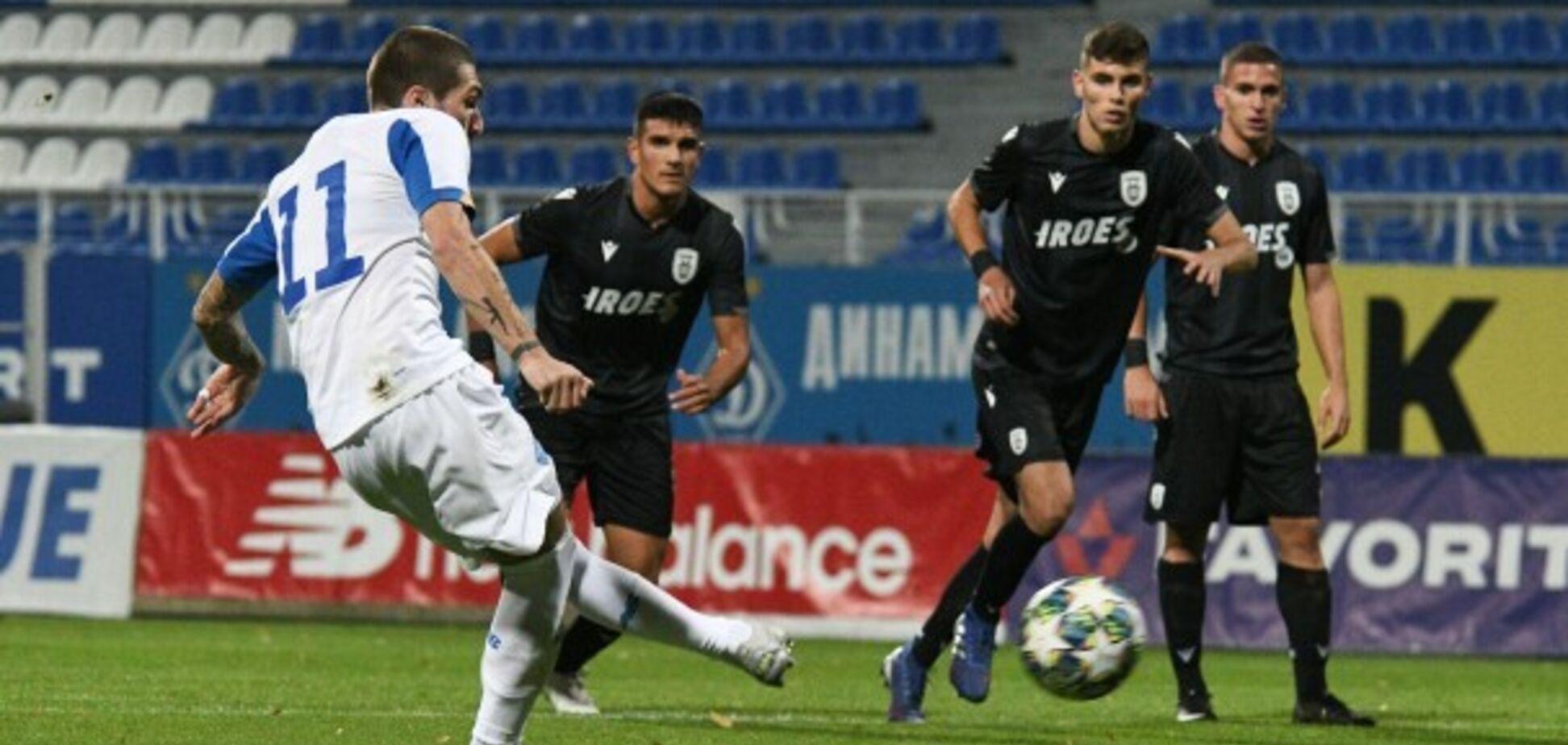 'Динамо' здобуло розгромну перемогу в Юнацькiй лізі УЄФА
