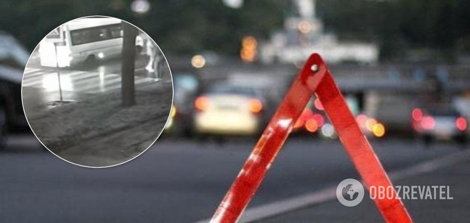 В Запорожье маршрутчик сбил ребенка и поехал дальше