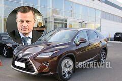 В Черкасах викрали автомобіль керівника 'Азоту'. Фото