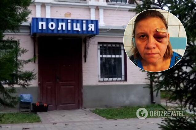 Семью побил бывший милиционер