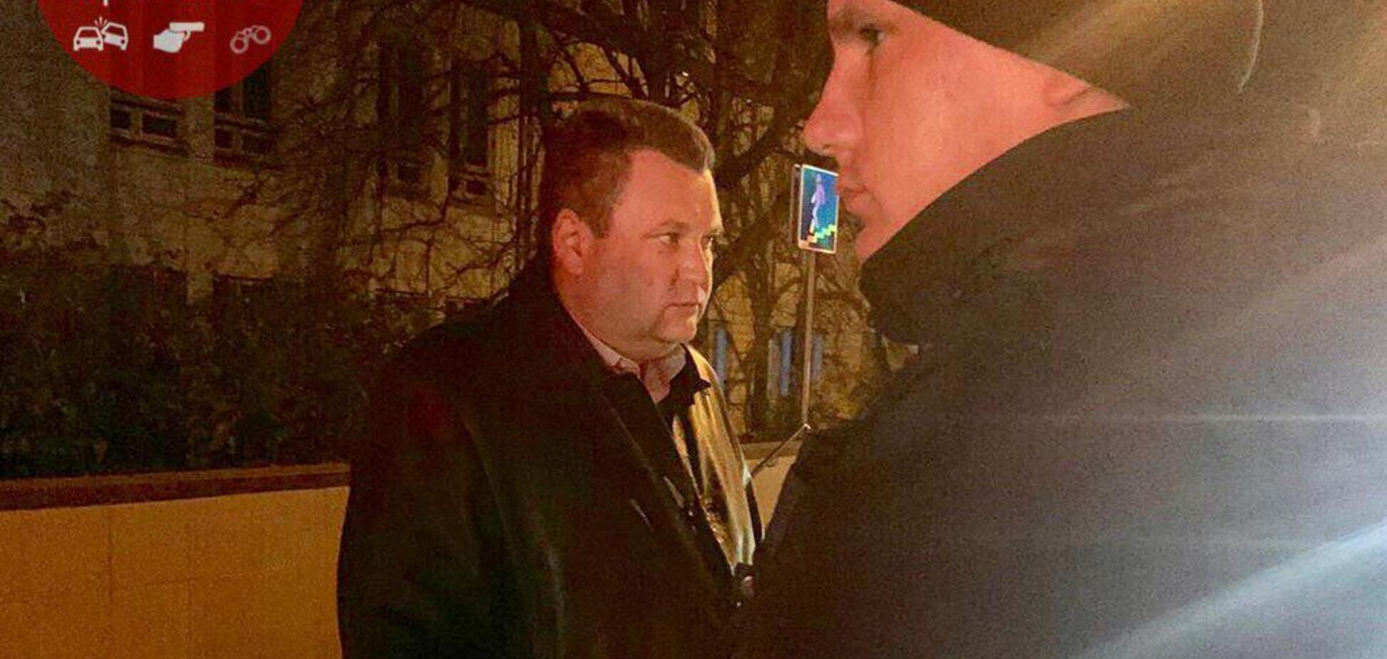 'Я вас на ноль умножу!' В Киеве одиозный сотрудник ГПУ устроил скандал полиции. Фото