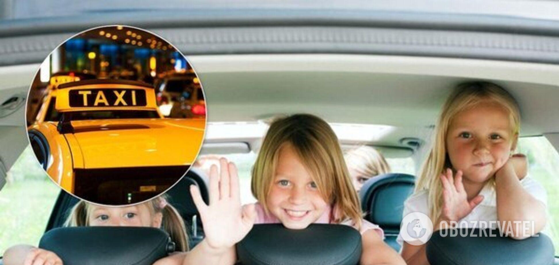 Автокрісла у таксі в Україні: кого тепер штрафуватимуть