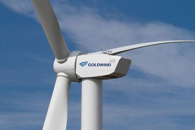 Ветрогенератор китайской компании Goldwind
