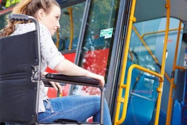 В Днепре в маршрутке поиздевались над пассажиркой с инвалидностью
