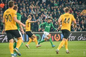 Украинский клуб спасся на последних секундах в историческом матче Лиги Европы