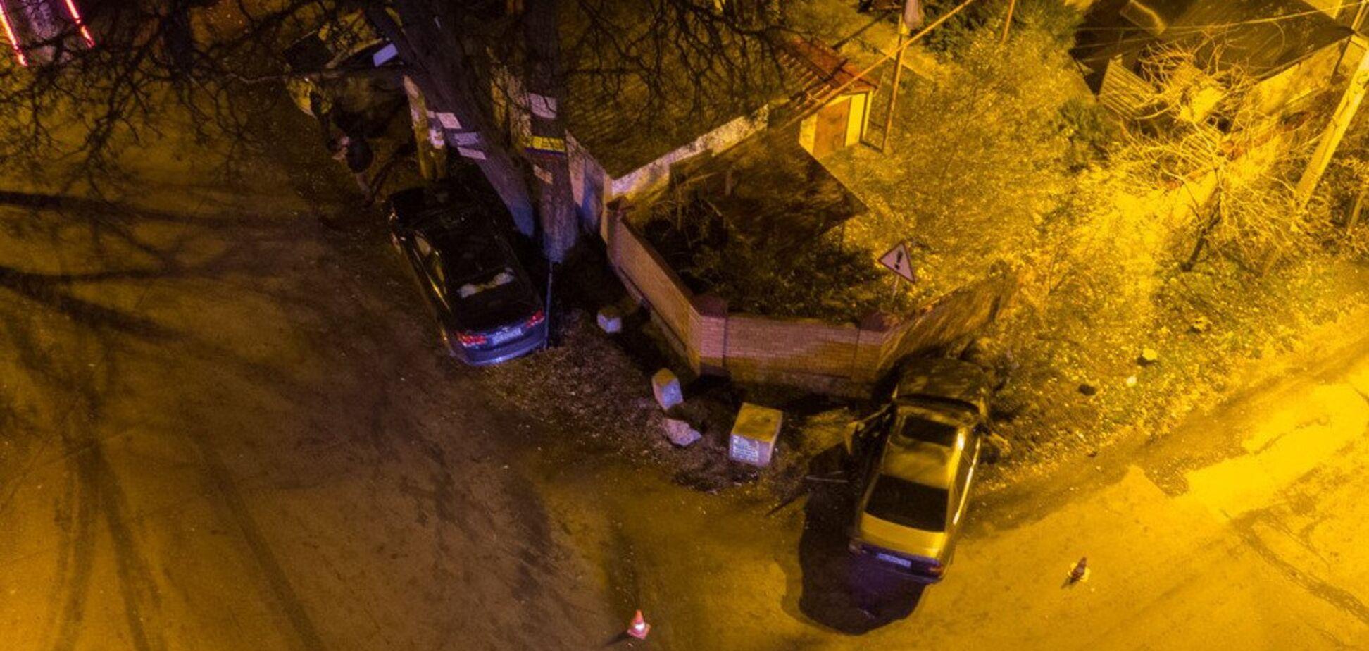 Вылетели на обочину: в Днепре произошло серьезное ДТП с пострадавшими