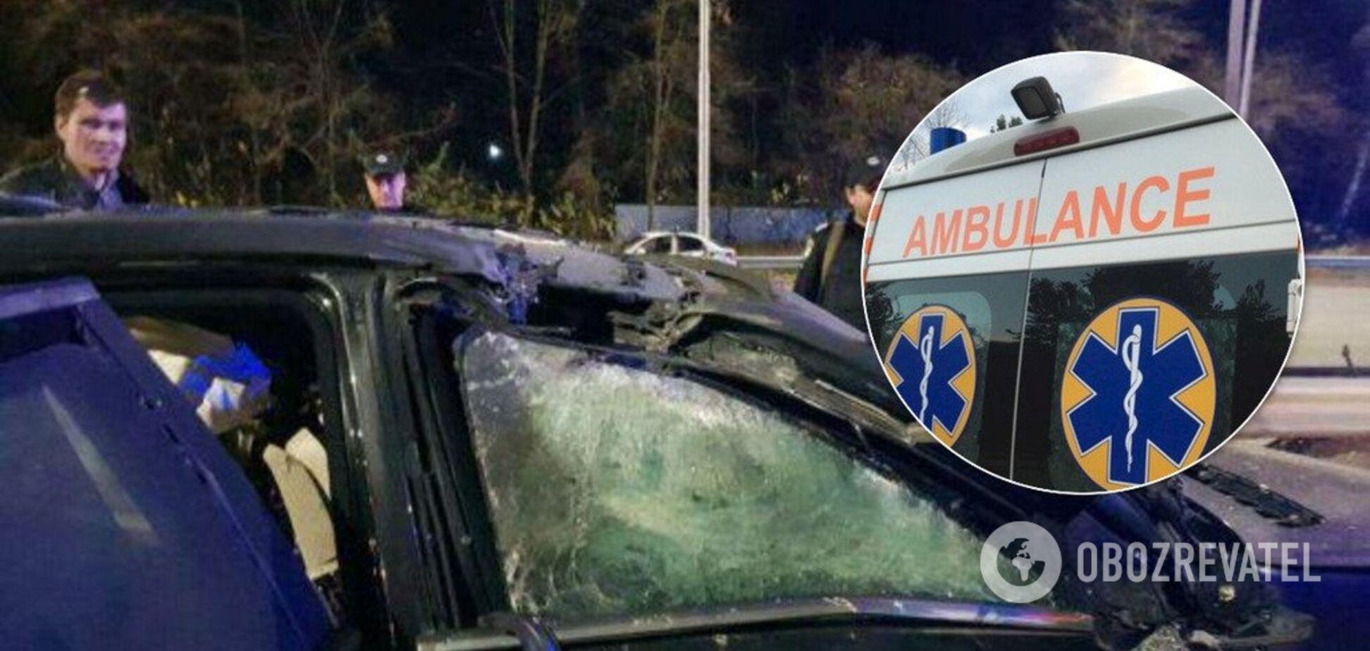 Взрыв в Киеве