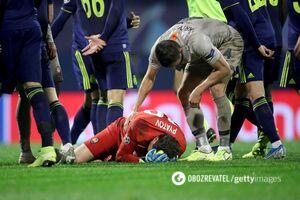 Как Пятов заработал пенальти для 'Шахтера' на последней минуте матча с 'Динамо' Загреб: видеофакт