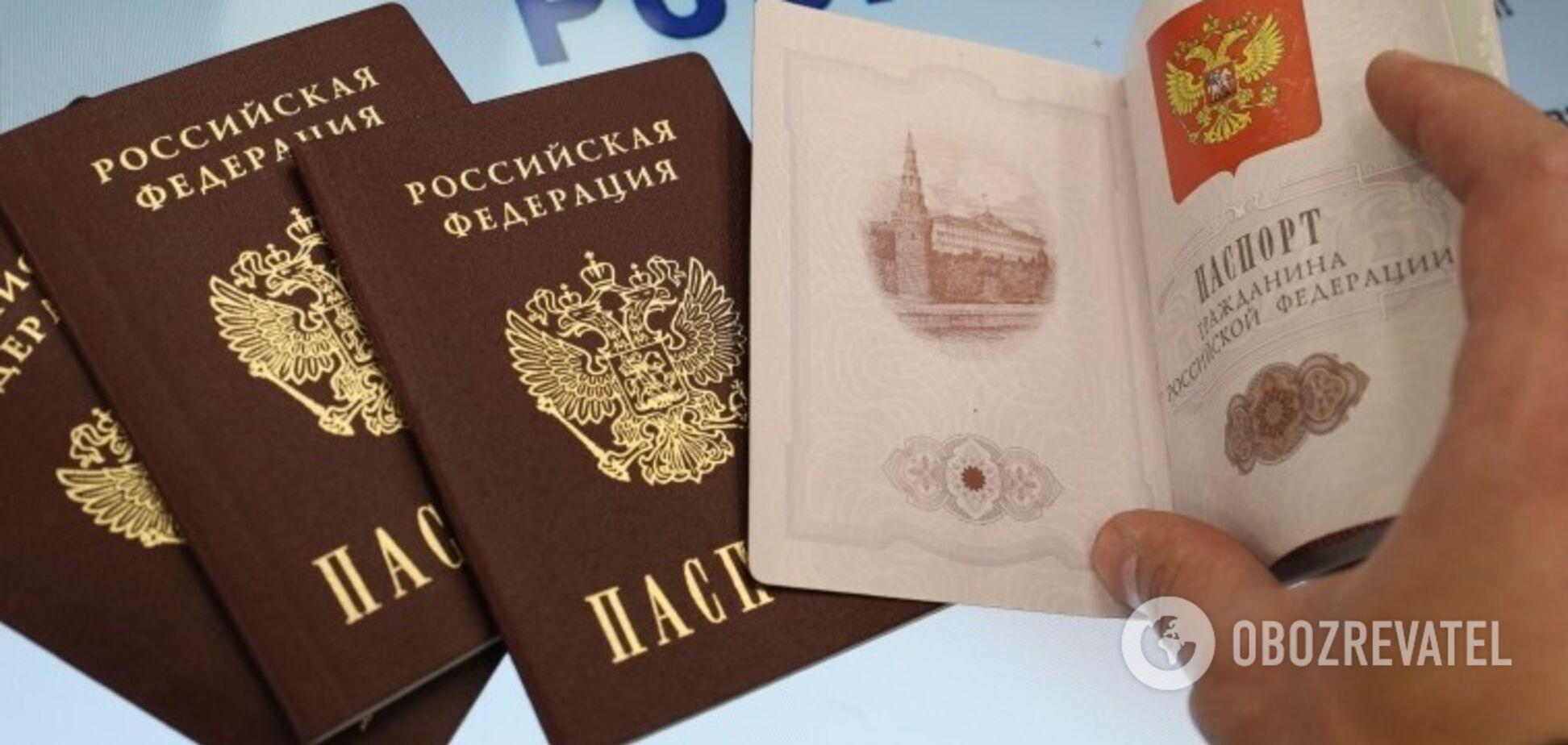 Путин раздает паспорта РФ: стало известно, сколько украинцев перешли на сторону оккупантов