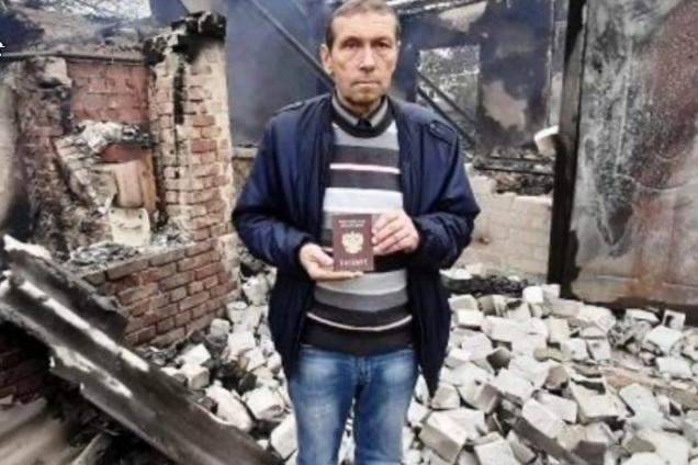 Погибший житель Донбасса