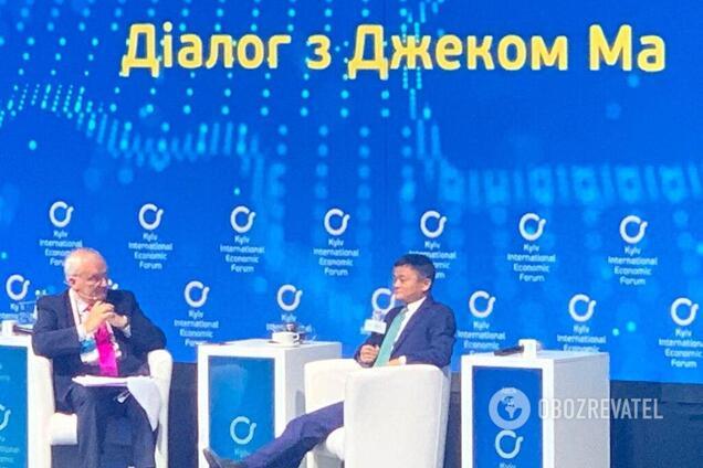 Засновник компанії Alibaba, мільярдер Джек Ма